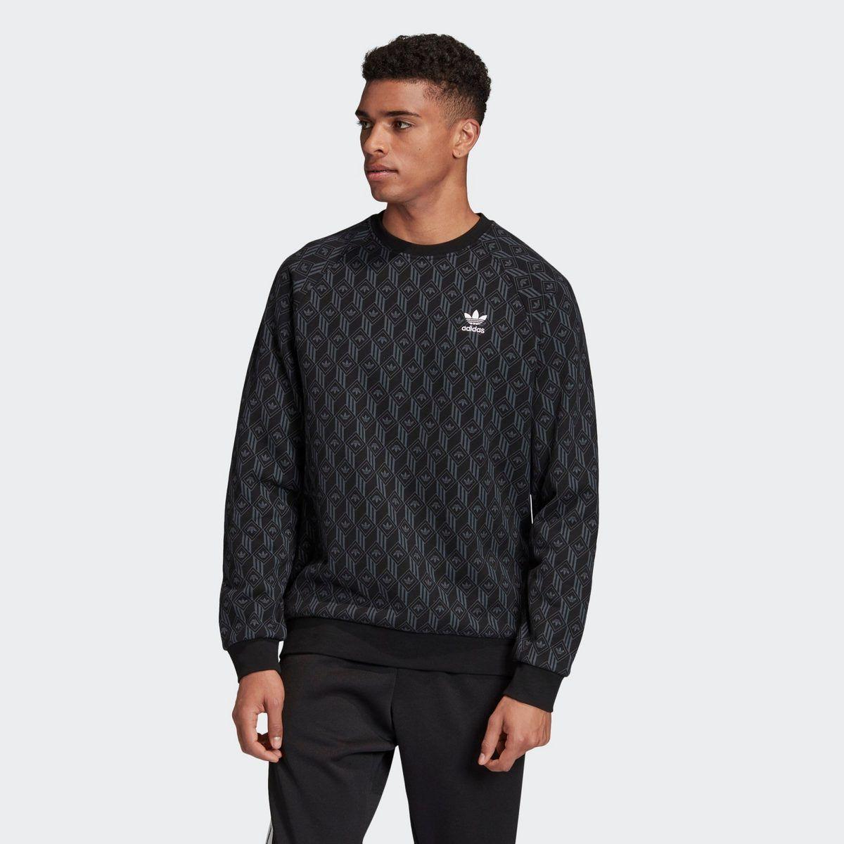 Adidas Originals Sweatshirt Allover Print Sweatshirt Graphics Online Kaufen Otto Jaqueta Adidas Blusa Adidas Adidas Preto [ 1200 x 1200 Pixel ]