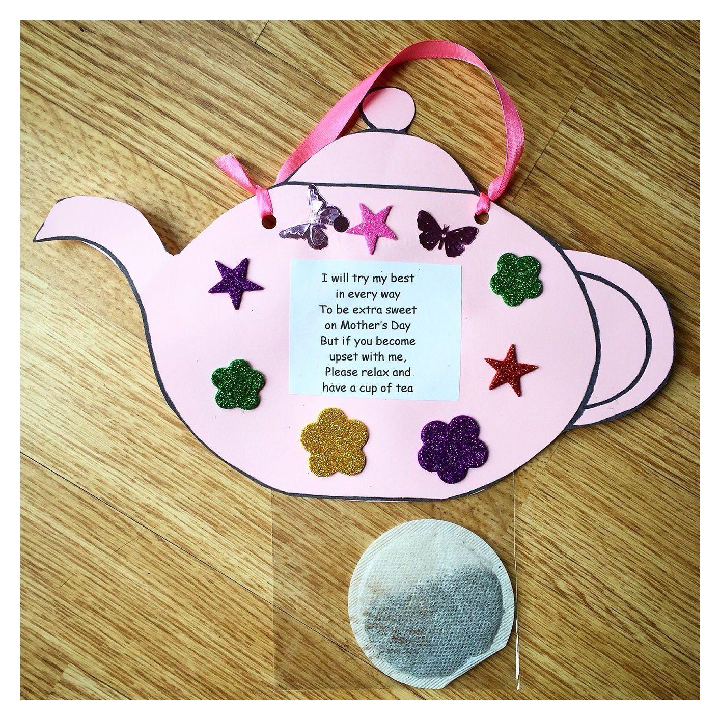 Teapot Craft Preschool Mother S Day Mothers Day Idea Mothers Day Crafts Preschool Mothers Day Crafts For Kids Mothers Day Crafts