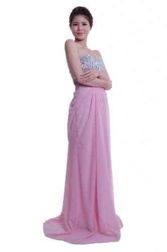 Moonar Chiffon Strapless Sweetheart A Line Prom Formal Gown Party Bridesmaid Wedding Dress Moonar, http://www.amazon.com/dp/B00APB69R2/ref=cm_sw_r_pi_dp_Whkdrb0T0KV61