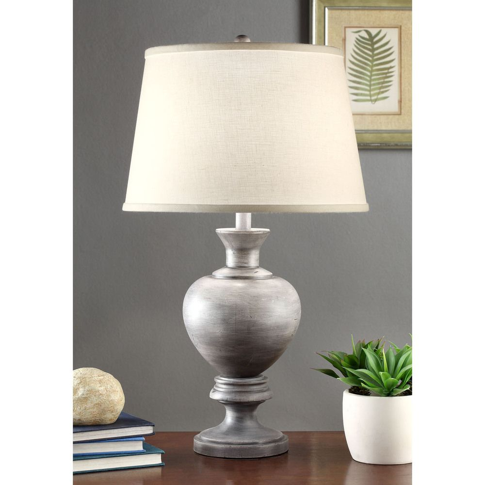 Charcoal Rubbed 27 Inch Table Lamp | Overstock.com