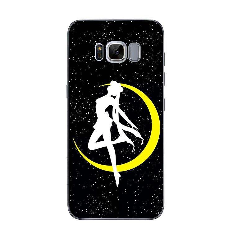 Black sailor moon phone case for iphone 66plus77plus8