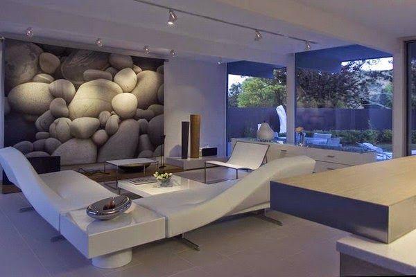 Sala decorada con elegancia ideas de salas con estilo for Decoracion de casas modernas y elegantes
