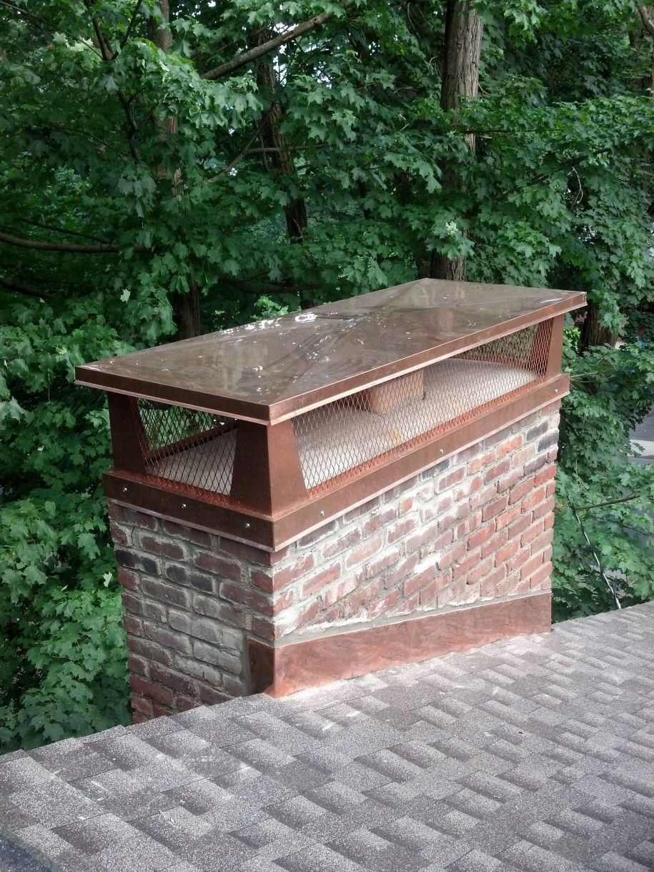 Cool Nulti Flue Copper Chimney Cap Measuring Feat Stainless Steel