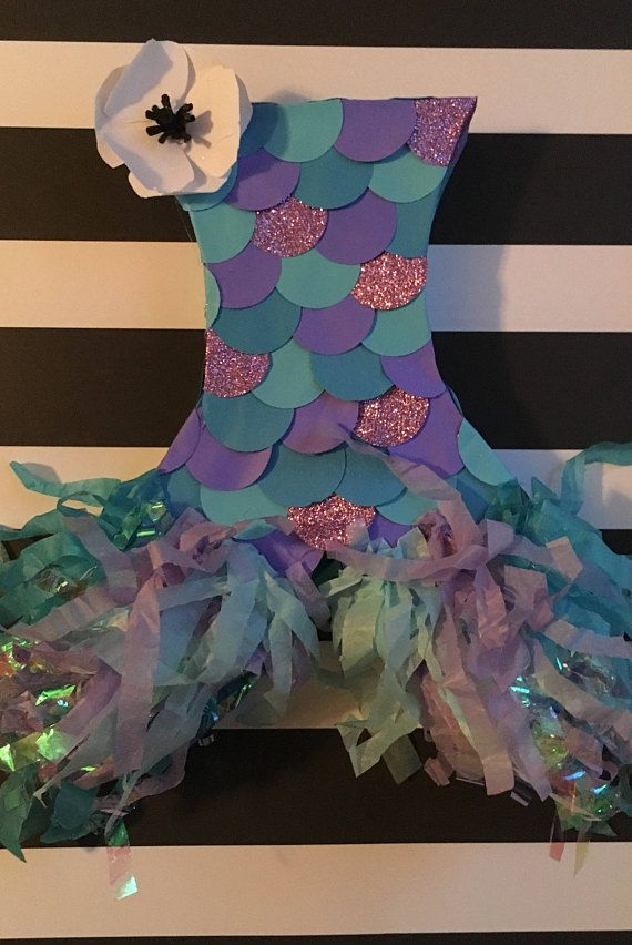 piñata de cola de sirena | piñattas en 2019 | pinterest | cumpleaños