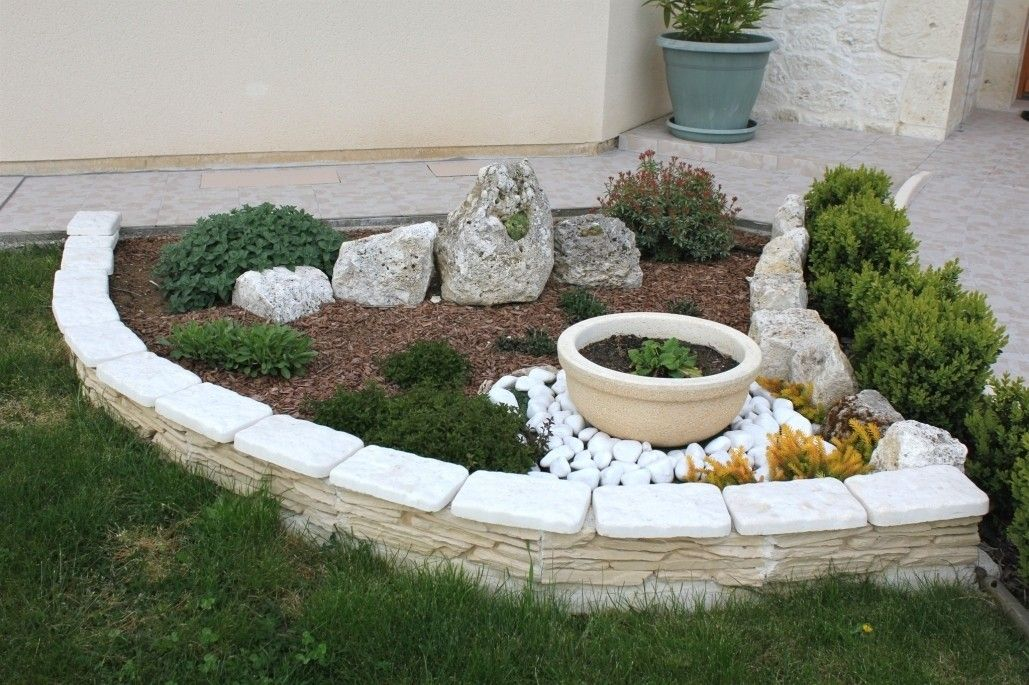 24++ Decorer son jardin avec des pierres ideas