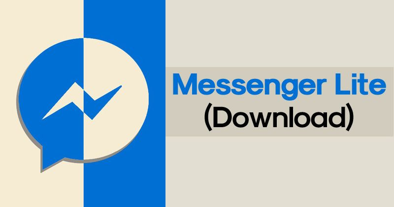 Messenger Lite APK Latest Version Free Download For