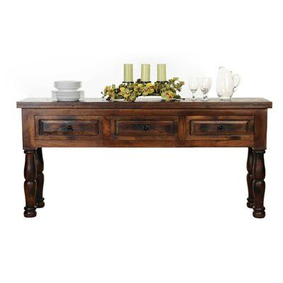 Aishni Home Furnishings CL63 Castle Grand Console Table - AFD