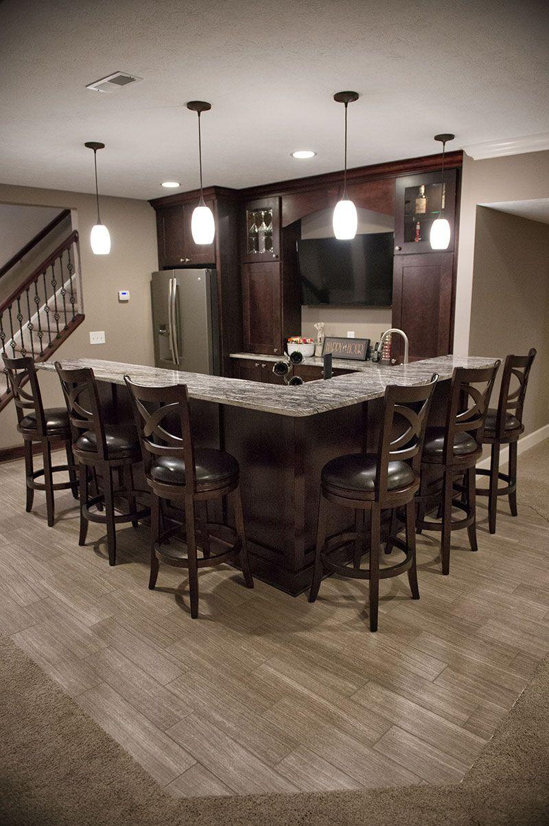 Basement Remodeling | Hurst Design-Build Remodeling | Kitchen ...