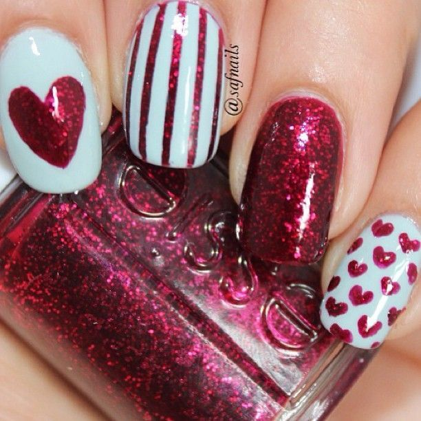 Pin by michelle morrissey on nails i do pinterest explore valentine nail designs valentine nails and more prinsesfo Image collections