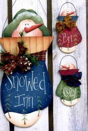 Free Christmas Wood Craft Patterns