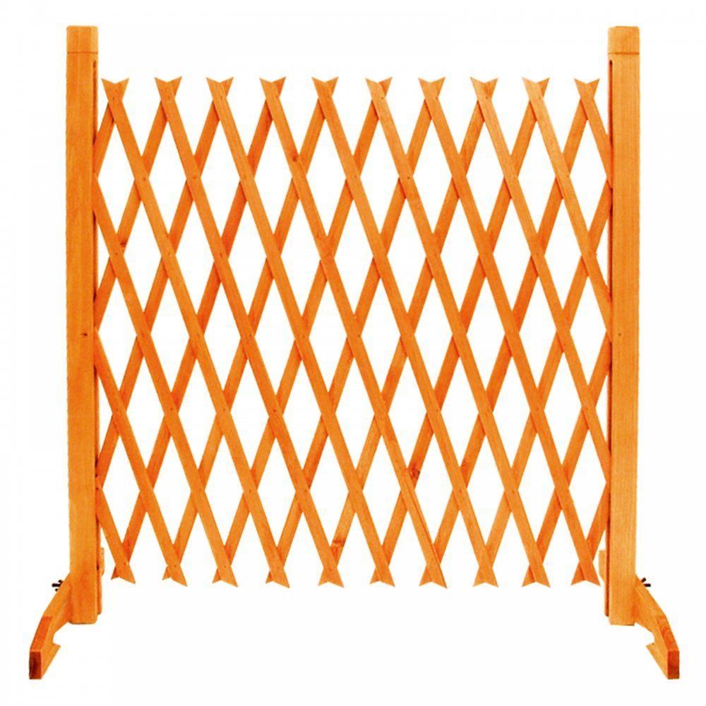 Free Standing Trellis: Expanding Fence Garden Screen Trellis Style Expands To 6'4