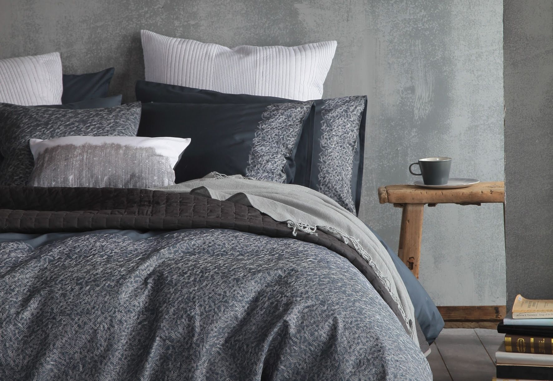 cloth and clay nordic nights sayen premium bedding Duvet