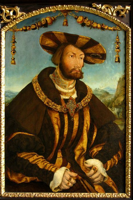 Duke Wilhelm IV of Bavaria by Hans Schwab von Wertinger  Reinette: German Style from 1468-1588