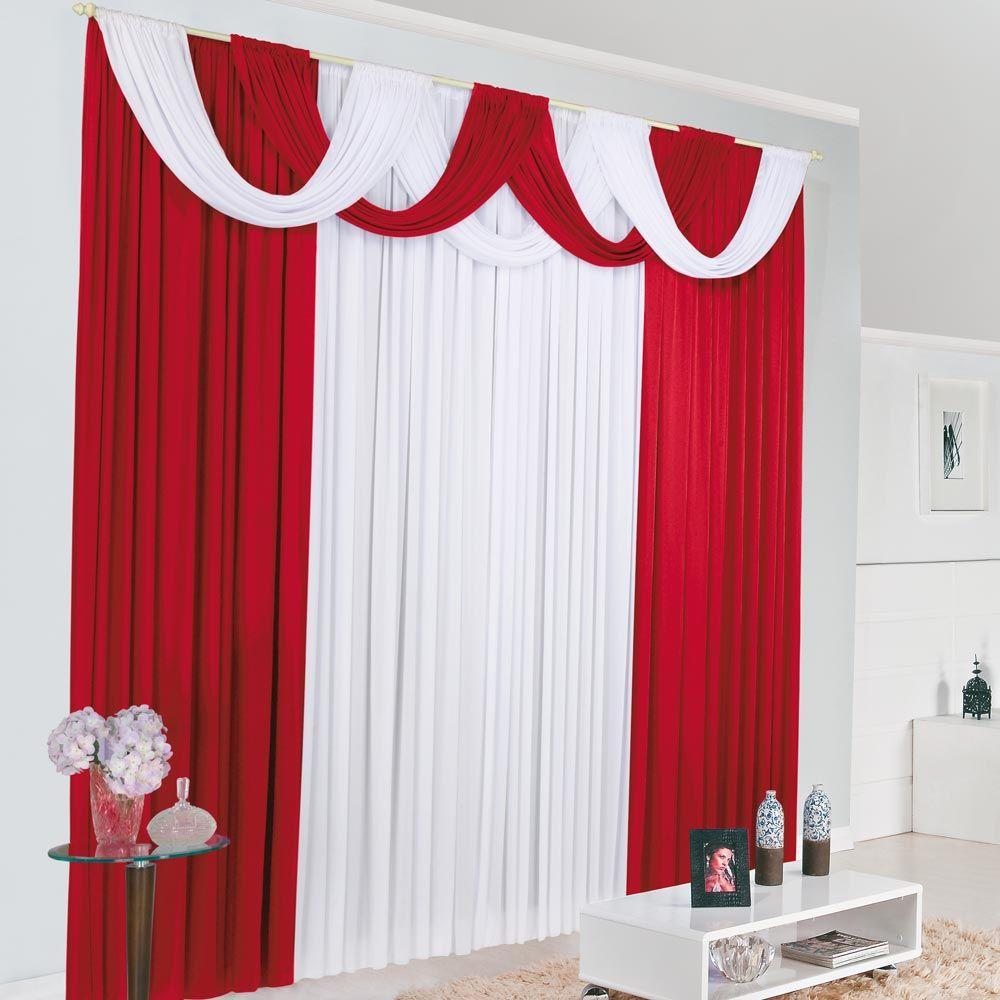 Cortinas De Tecido Para Quarto Cortina Catherine Decorativa Em  -> Modelo De Cortina Tnt Sala Infantil