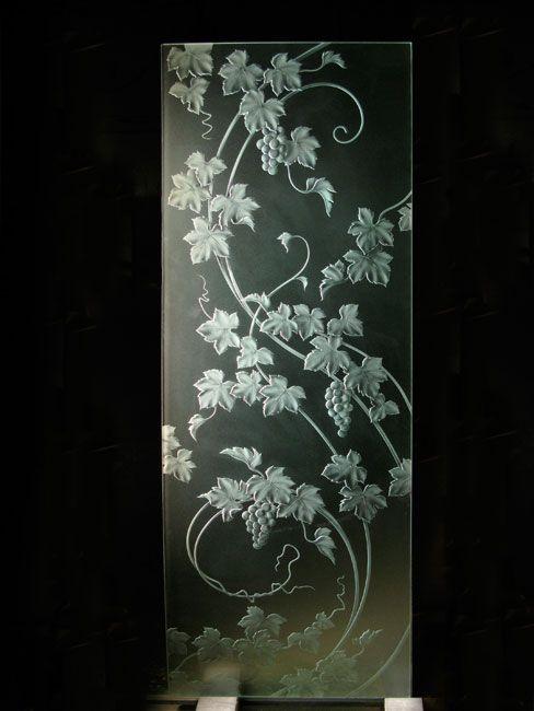 Glass Sandblasting Artist