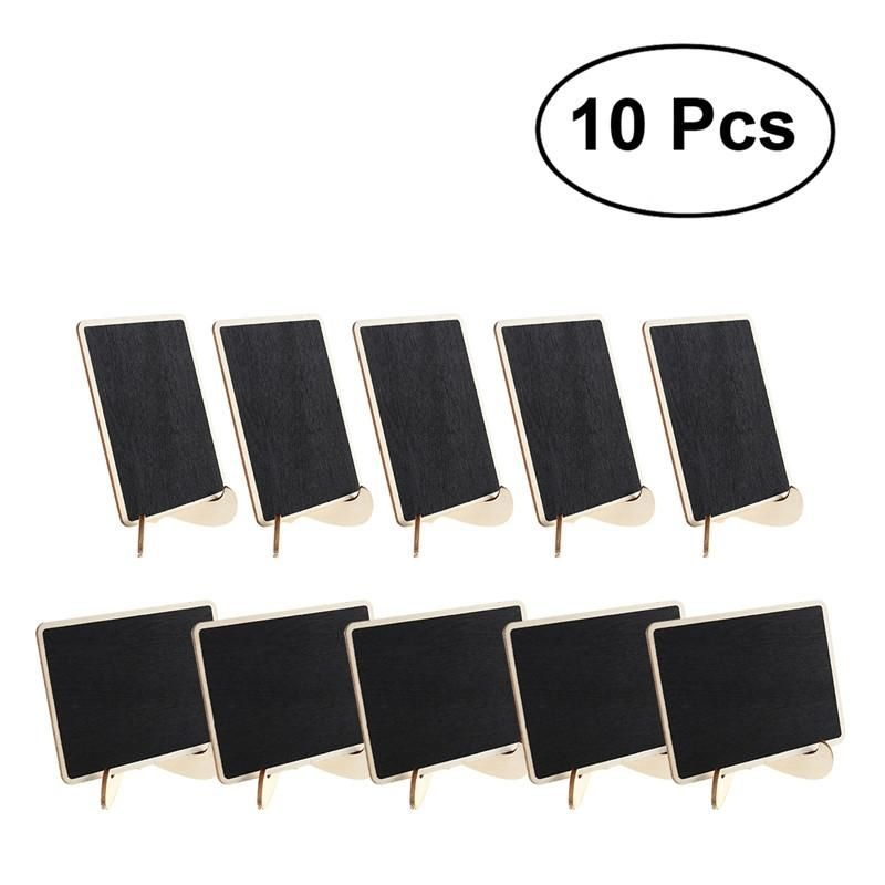 *NEW*eBoot Mini Rectangle Chalkboards Double Sided Black Board for Message Signs