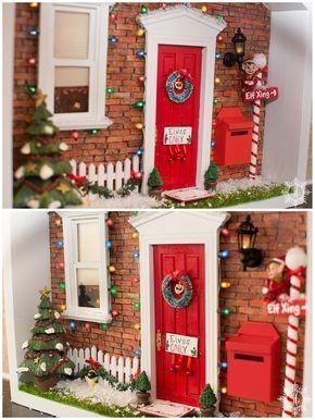 Magic Elf Door and North Pole Portal