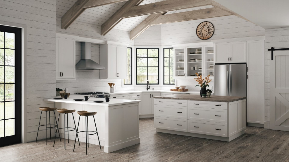 Melvern Wall Cabinets in White - Kitchen - The Home Depot ...