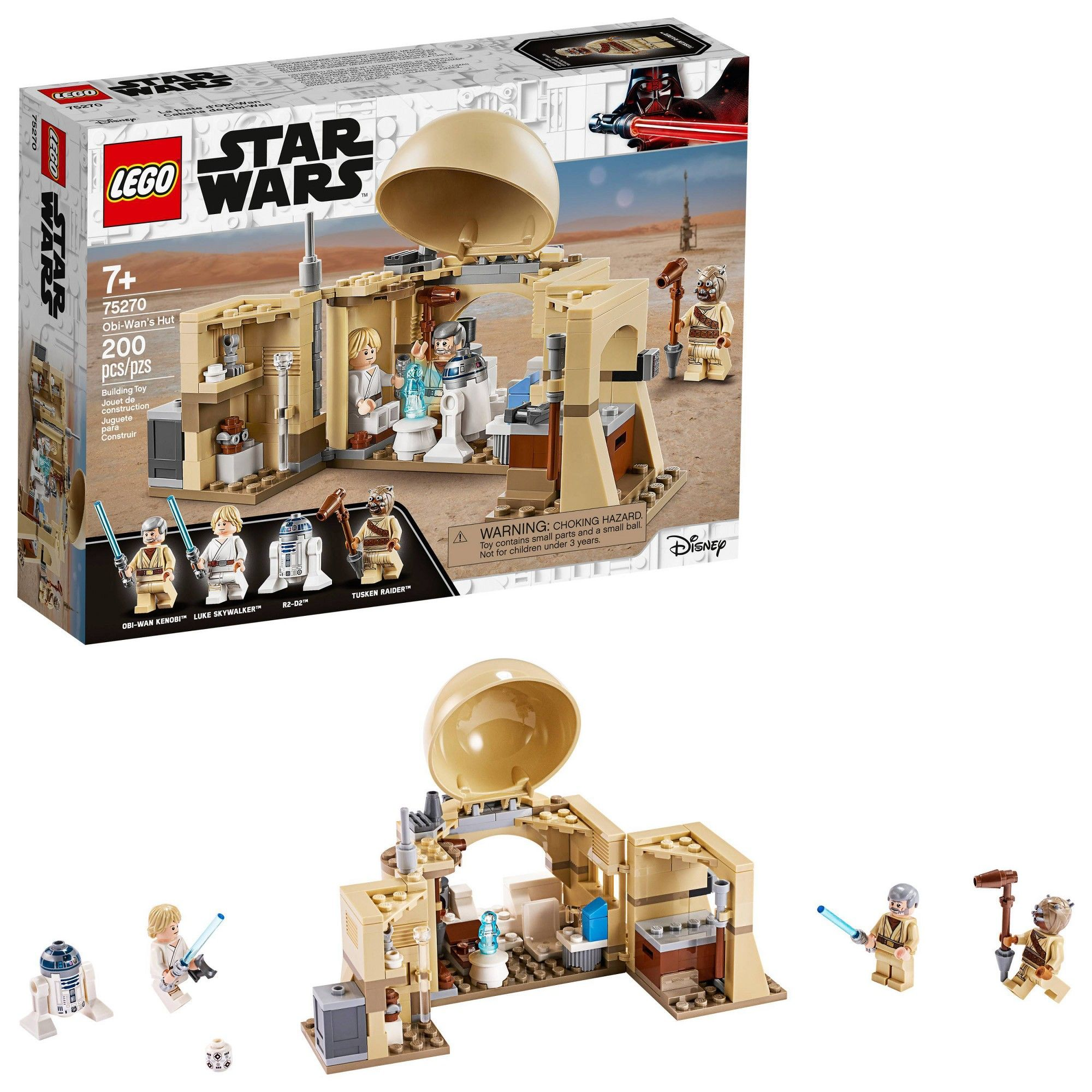 Photo of LEGO Star Wars: A New Hope Obi-Wan's Hut 75270 Starter Set for Young Kids