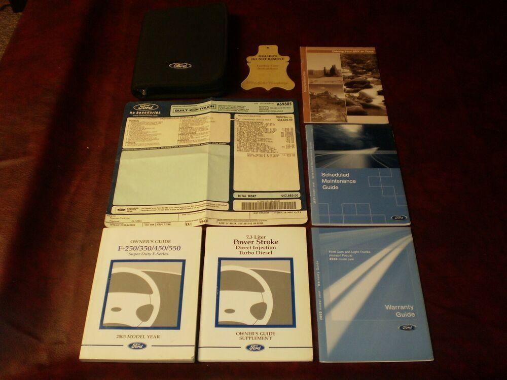 Ebay Sponsored 2003 03 Ford F 250 350 450 550 Super Duty 7 3