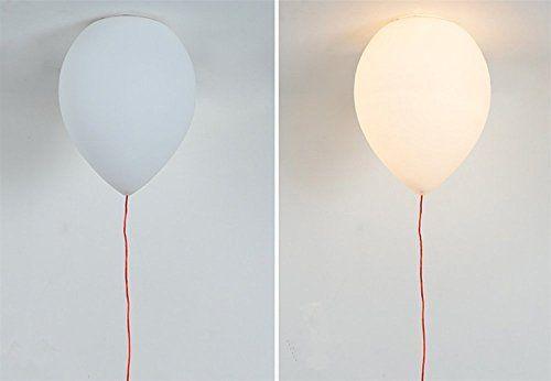 Modernes lustres en style simple,vacances Plafonnier,Colorful ballon