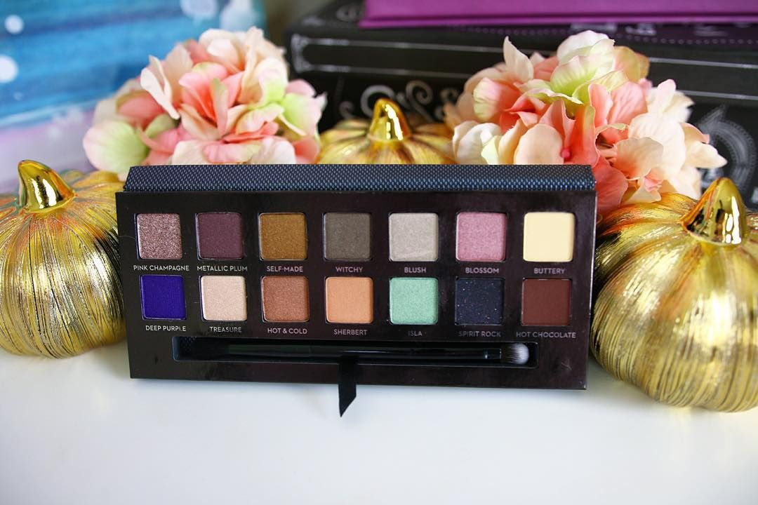 """I have been loving the @anastasiabeverlyhills self-made palette!!! It is so gorgeous! """