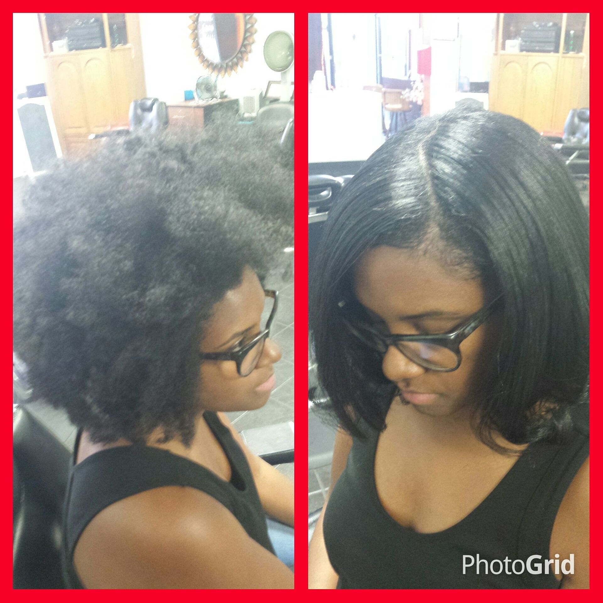 Blowout Silk Press Hair Straightening At Trendz By Tammy Hair Salon Houston Pearland Tx Natural Hair Salons Natural Hair Styles Black Hair Salons