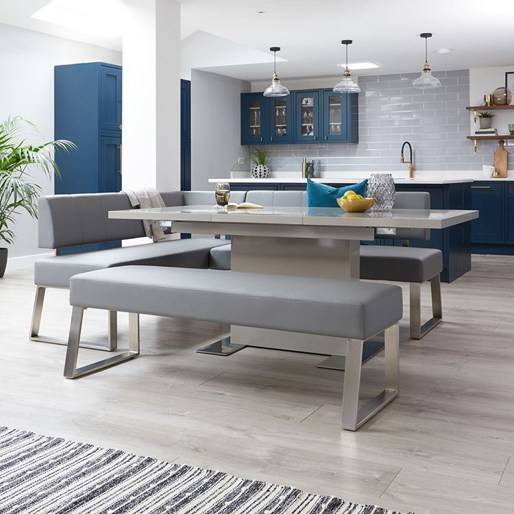 Shop The New Dover Corner Bench And Sanza Dining Table Via Link In