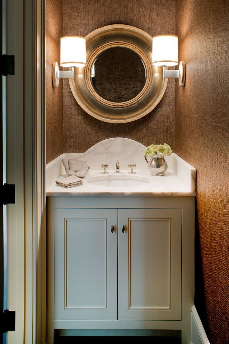 Image result for powder room small marble