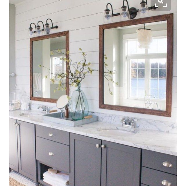Shiplap Bathroom Vanity: The First Big Project I Want To Do In Our House Is Update