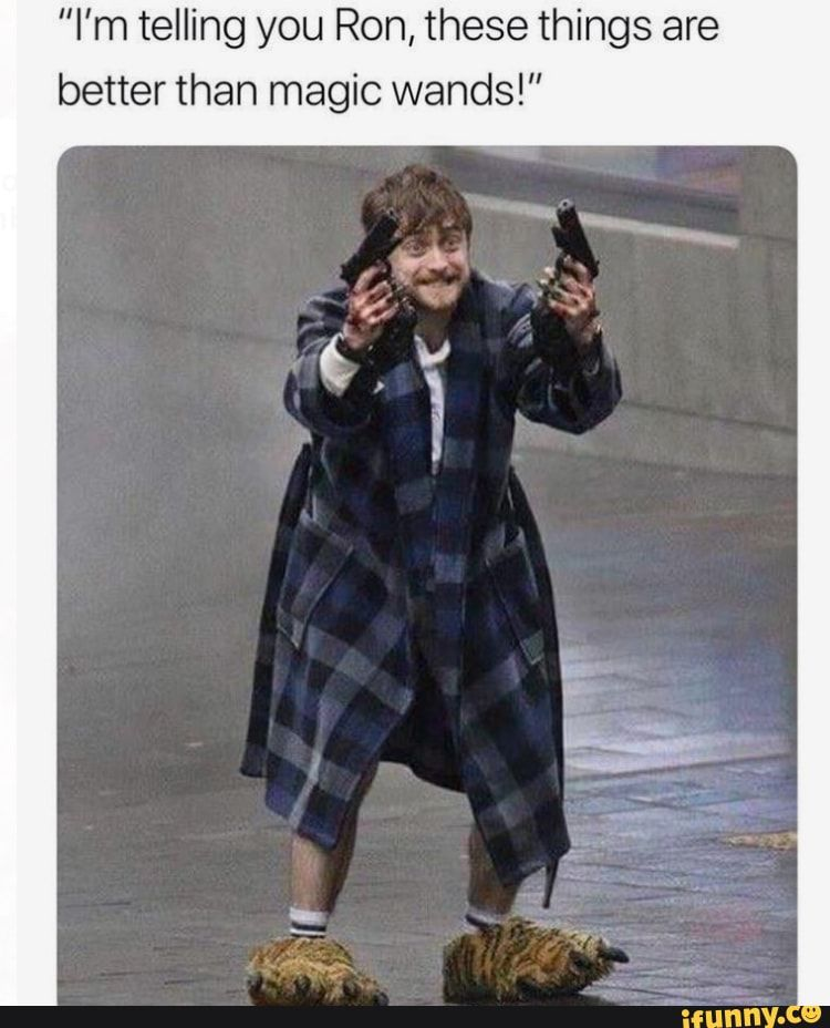 I M Telling You Ron These Things Are Better Than Magic Wands Ifunny Harry Potter Funny Harry Potter Memes Harry Potter Memes Hilarious