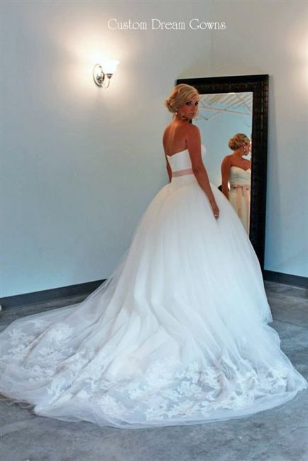 Ball Gown Wedding Dresses Ideas: Gorgeous #Wedding Ballgown! Custom ...