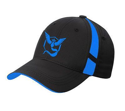 Pokemon Go Cap Hat Team Valor Team Mystic Team Instinct Pokemon Cap ...