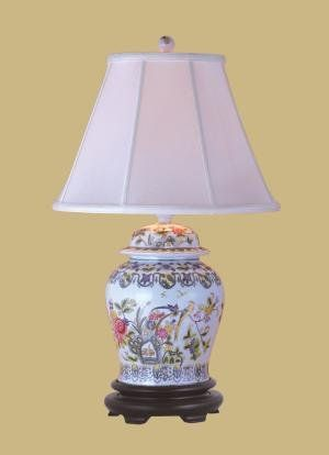 East enterprises inc h jar table lamp with empire shade
