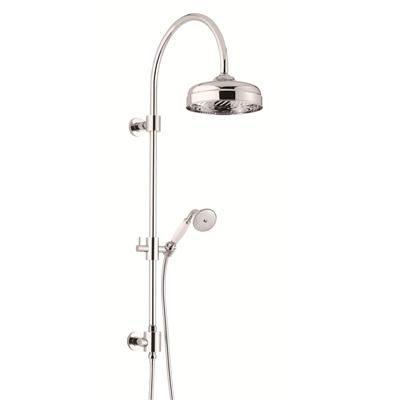 Shower Column with Showerhead and Handshower from