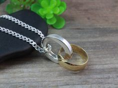 Sterling Silver Ring Holder Necklace Mens Ring By Lifeofsilver