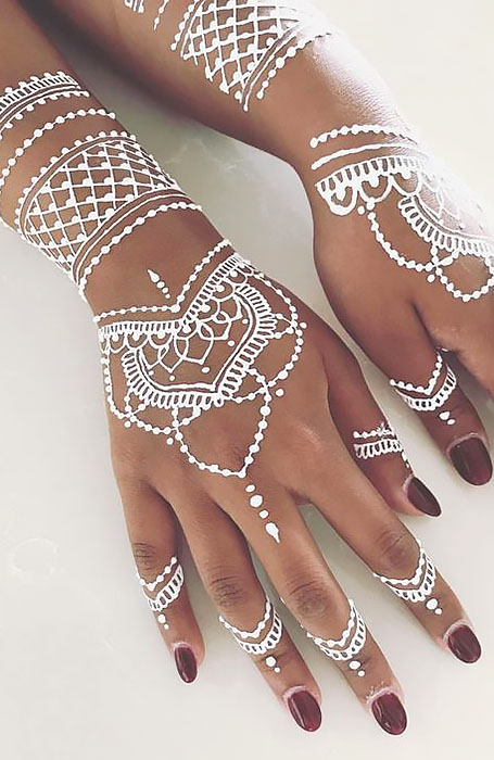 Photo of 18 Beautiful Henna Tattoo Designs to Try