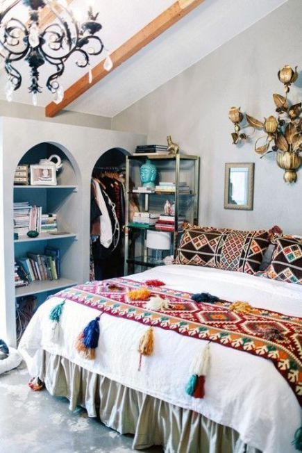 Los 25 dormitorios de estilo boho chic más bellos de Pinterest 17 ...