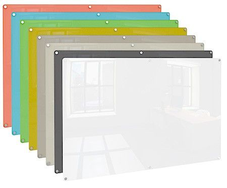 harmony glass dry erase boards by ghent are sleek and easy on the eyes with a design thatu0027s uncluttered - Glass Dry Erase Board