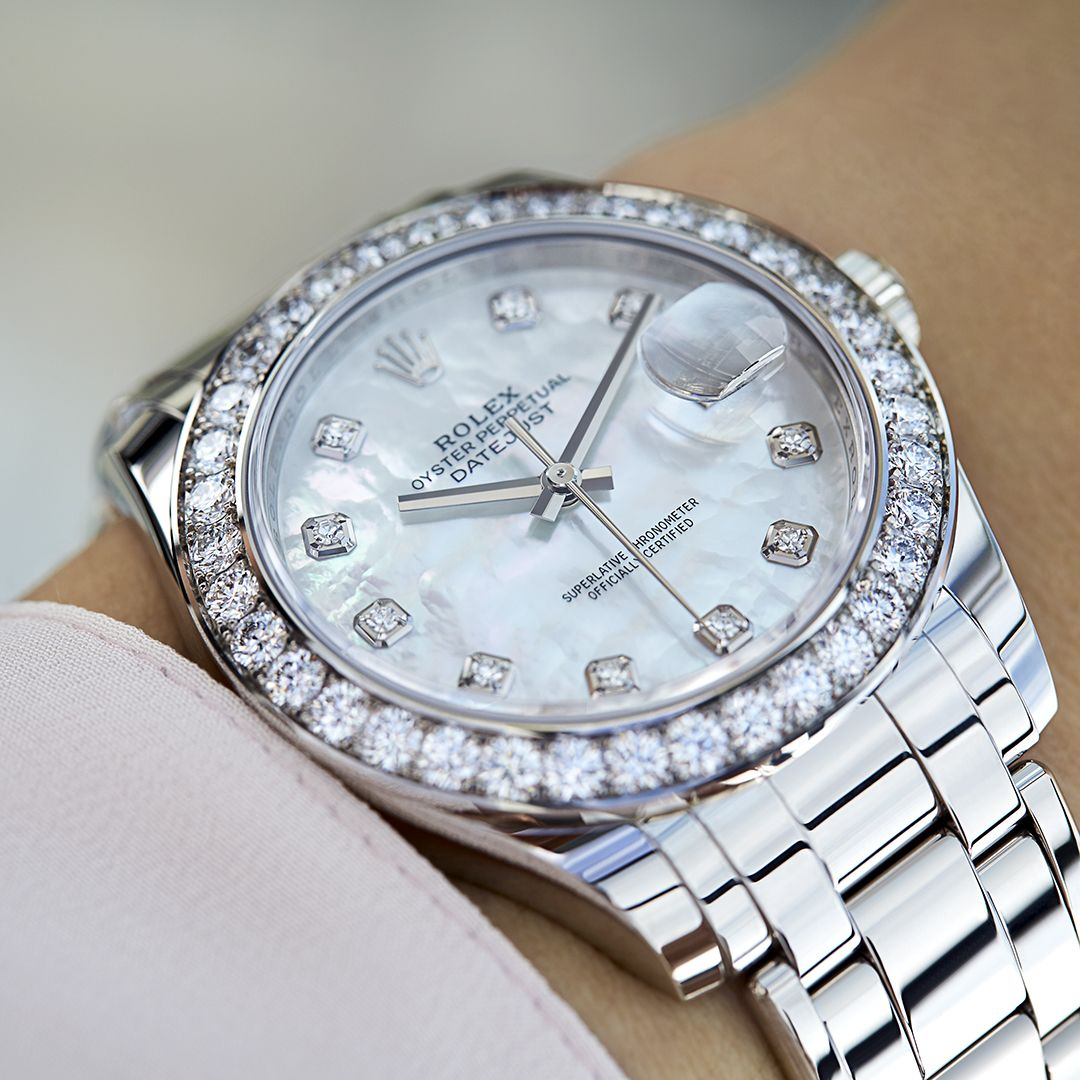 The Rolex Pearlmaster 39 In White Gold And Diamonds 39 Mm