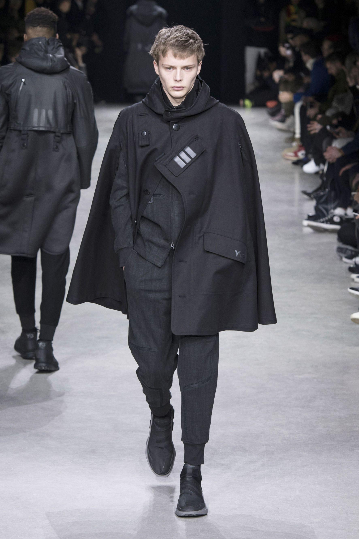 084c49467851c 52 Erkek Modası, Defile, Yohji Yamamoto, Podyum, Elbiseler, Mantolar,  Couture