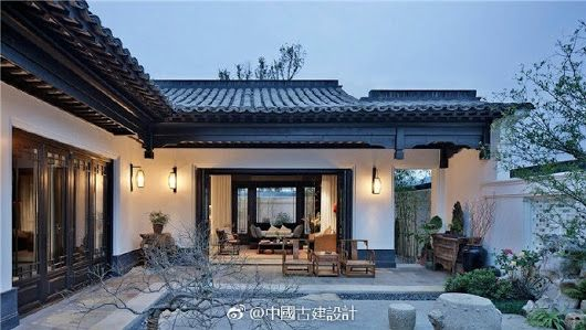 Chinese Style Courtyard   Chinese Tradition In Contemporary Chinese  Architecture
