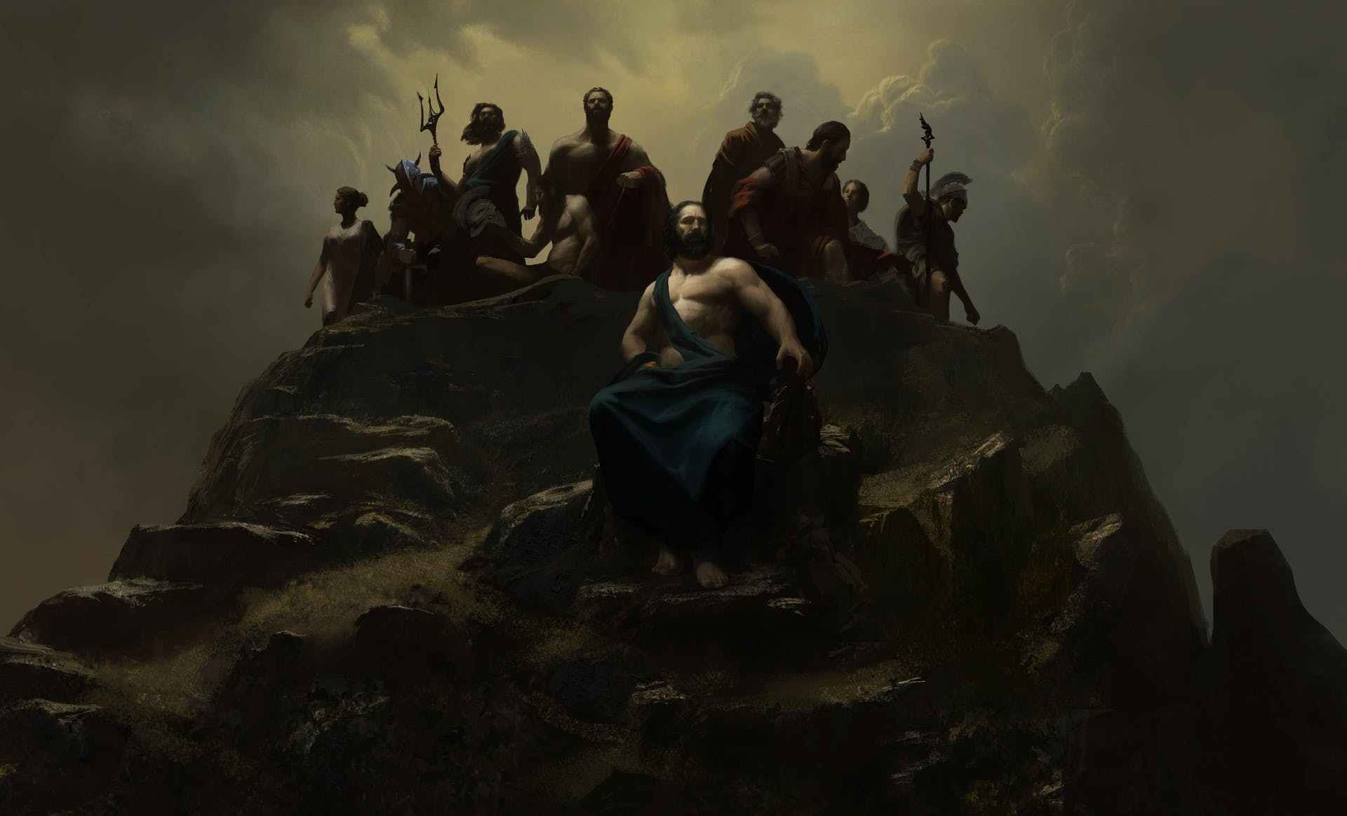 Wonder Woman Artist Releases the Movie History Art Images | matiuadex movies