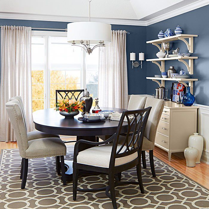 Feast Your Eyes Gorgeous Dining Room Decorating Ideas: Update Your Dining Room: Set Your Table And Chairs Under