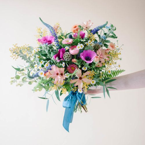 Wildflower Bridal Bouquet — Mum's Weddings