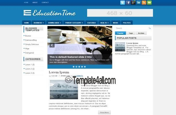 Blogger Templates Education Blogger Theme Template Download Blogger Education Bloggertempl Website Themes Templates Education Bloggers Free Website Themes