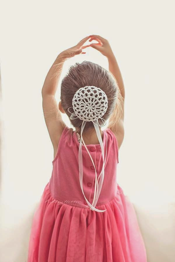 Los patrones de crochet de Jennifer: Ballerina Bun… | Crochet ...