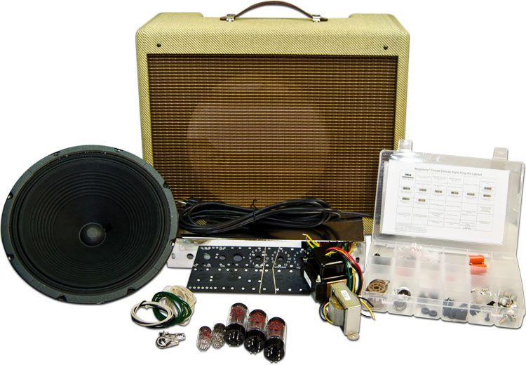 mojotone 5e3 tweed deluxe style amplifier kit my favorite guitar amplifier diy dreams of spl. Black Bedroom Furniture Sets. Home Design Ideas