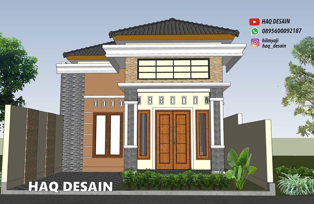 Rumah Minimalis Sederhana 3 Kamar Tidur 1 Lantai Di Desa Rumah Minimalis Rumah Desain Rumah Minimalis