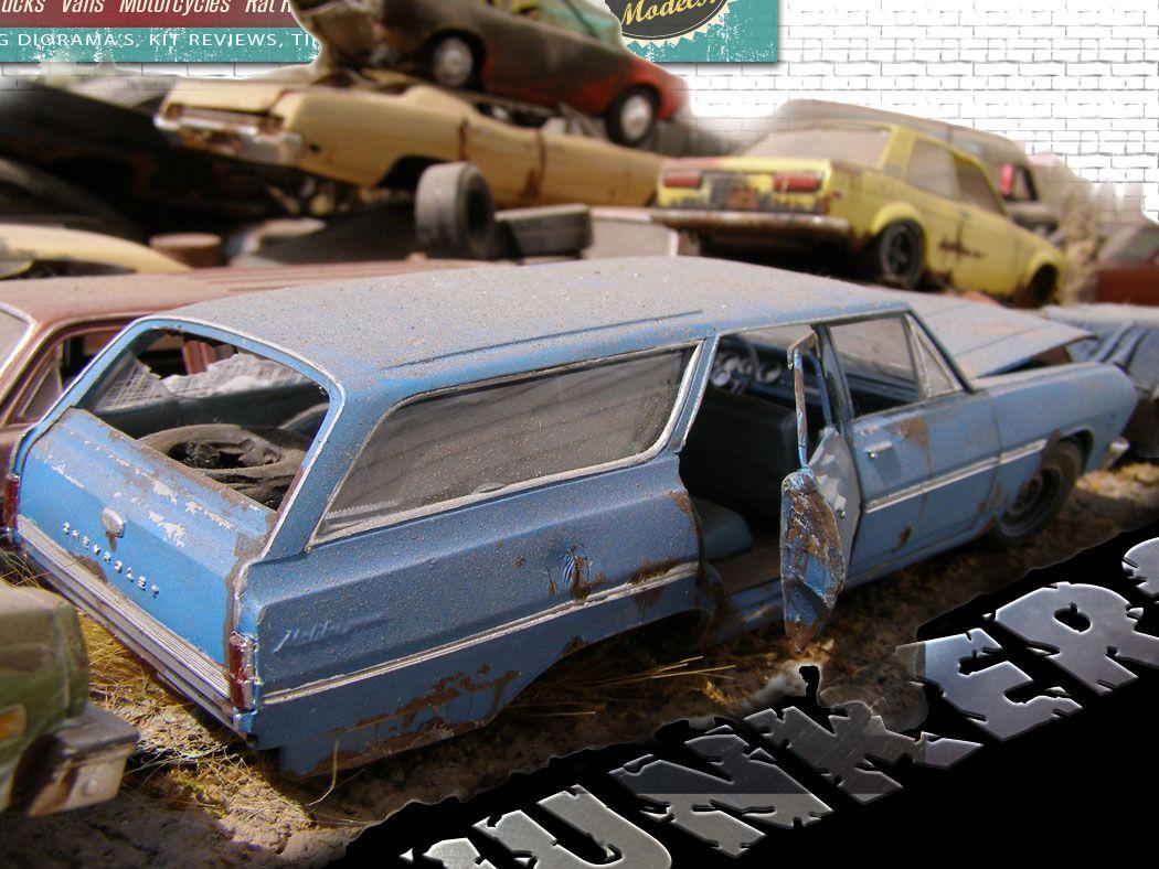 Diorama Junkers | Model car, Dioramas and Cars